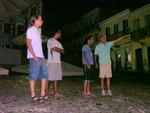 Thiago, Eduardo, Milton und Antônio, der Vater von Eduardo